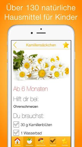 Hausmittel für Kinder PRO screenshot for Android