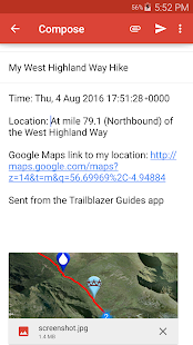 Trailblazer Walking Guides- screenshot thumbnail