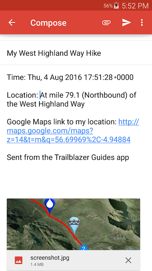 Trailblazer Walking Guides- screenshot
