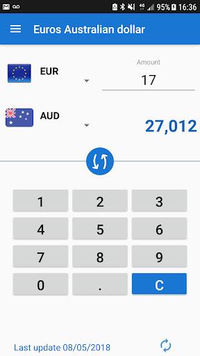 Euro To Australian Dollar Eur Aud Converter Screenshot 2