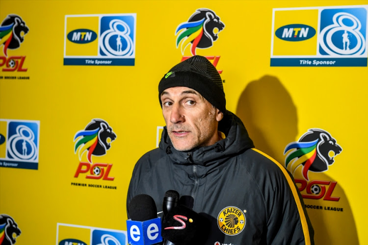 Kaizer Chiefs head coach Giovanni Solinas.
