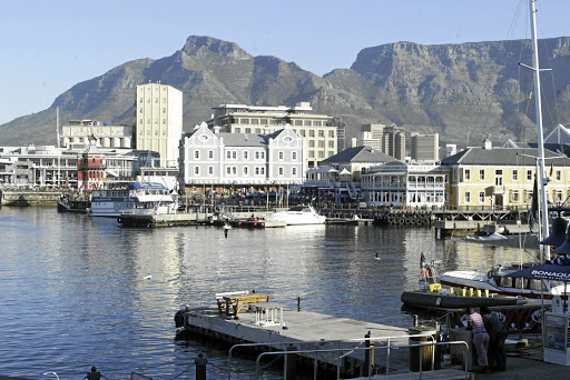 V&A Waterfront, Cape Town. Picture: SUNDAY TIMES