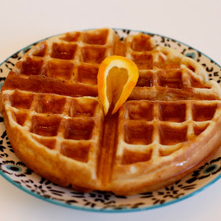 Orange Clove Waffles