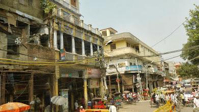 Photo: Das typische Strassenbild in Indien