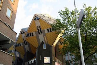 Photo: Rotterdam'ın ünlü kübik evleri