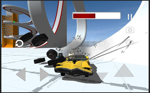 Classic Car Crash Simulator