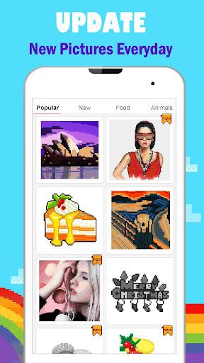 PixPanda - Color by Number Pixel Art Coloring Book 3.4 screenshots 4