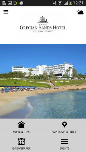 Grecian Sands Hotel Cyprus
