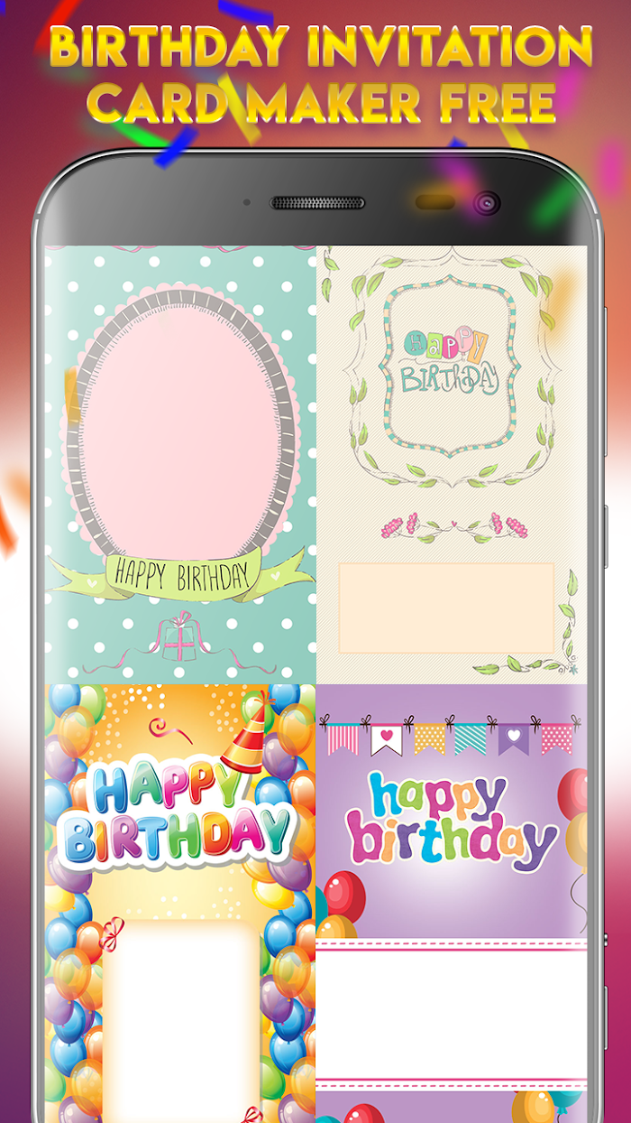 Birthday Invitation Card Maker Free V1 0 For Android Apk
