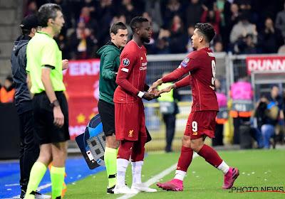 📷 Liverpool condamne une bannière raciste sur Divock Origi