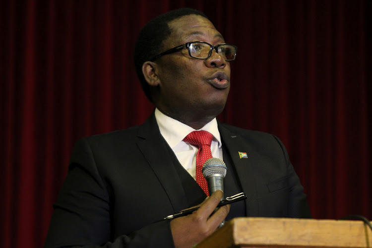 Gauteng Education MEC Panyaza Lesufi. File photo.