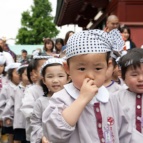 Japanese children by Max Mayorov - People High School Seniors ( holiday, faces, japan, clothing, clothes, children, traditional, kids, japanese )