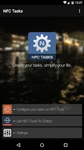 NFC Tasks - náhled