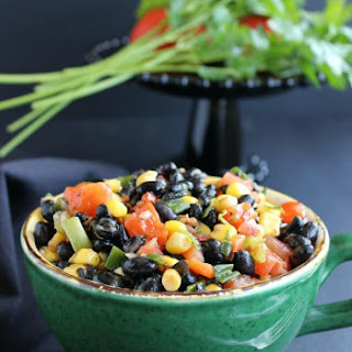 Fully Loaded Black Bean Salad