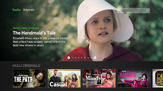 Hulu for Android TV Screenshot