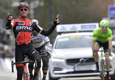 """Van Avermaet met zware benen aan de start in Kuurne: """"Vanmorgen voelde het niet zo goed aan"""""""