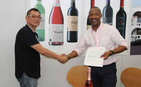 Western Cape-based Thandi Wines.