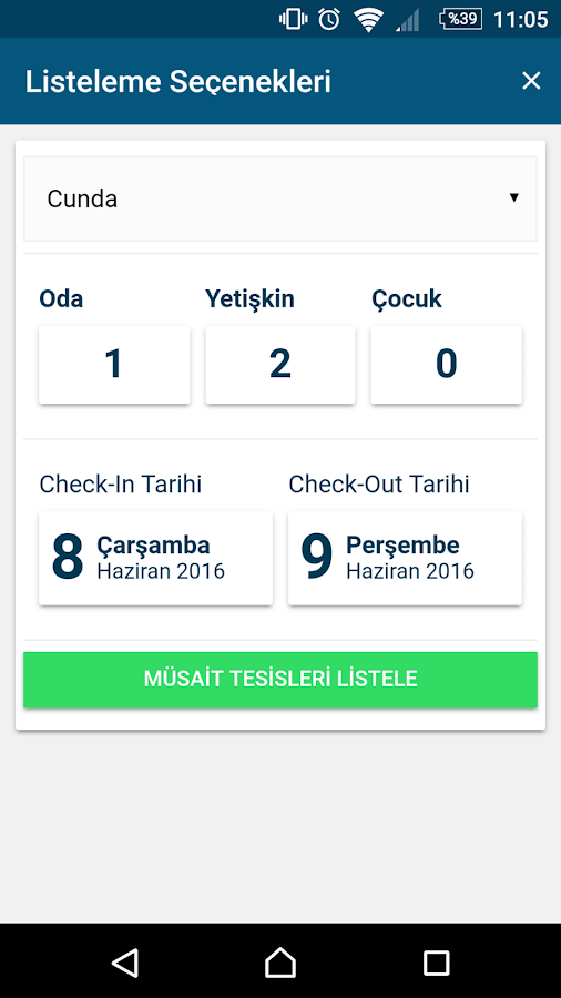 OtelPlus- screenshot