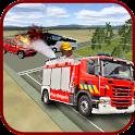Firefighter Emergency Truck icon