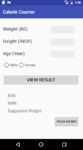 Calorie Counter screenshot 1