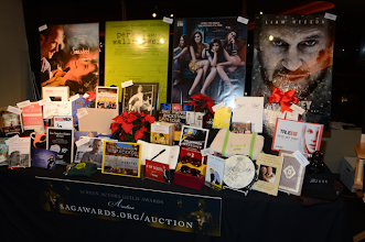 Photo: The SAG Awards Holiday Auction Display at the PDC. You can still bid through Sun. Dec. 16 at http://sagawards.org/auction  Credit: Michael Buckner