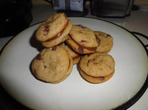 """Stupidly Good Chocolate Chip & Nutella Cookies """"This is as amazing as it..."""