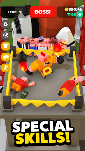 Idle Boxing - Idle Clicker Tycoon Game 0.42 screenshots 4