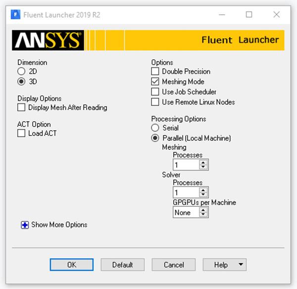 ANSYS - Теперь инженеры могут использовать параллельные высокопроизводительные вычисления (HPC – high-performance computing) при создании сетки в объёме расчётной области в задачах вычислительной гидрогазодинамики (CFD – computational fluid dynamics)