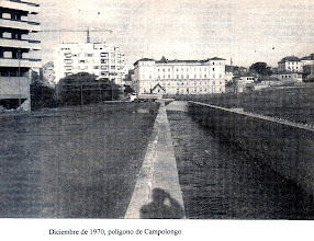 Photo: 1970, polígono de Campolongo, comézase a canalizar esta parte do río Gafos, aquí chamado río da Estación ou de Campolongo.