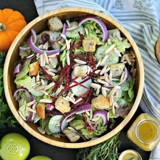 Sherry-herb Vinaigrette Salad Dressing.