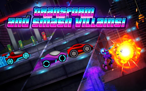 Neonmatron Robot Wars: Top Speed Street Racing
