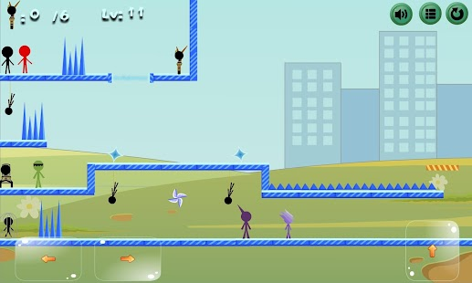 Two player - Stickman rescue mission - náhled