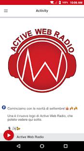 Active Web Radio - náhled