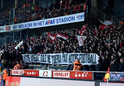 Supporters Standard komen met enkele erg scherpe spandoeken op de proppen in en tegen Mechelen