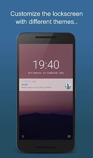 Floatify Lockscreen Screenshot