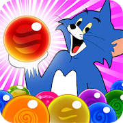 Game Tom Cat Pop : Jerry Bubble Pop And shooter apk for kindle fire