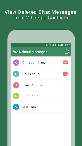 Download WA Delete Chats - View Deleted Chats & Media files