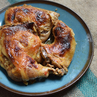 Smokehouse Chicken in a Dutch Oven