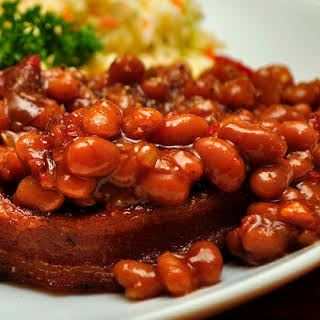 Smokin' Willy Barbecue Baked Beans.