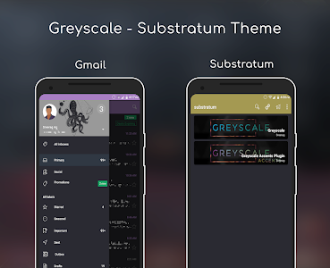 Greyscale - Substratum Theme 2.9 (Patched)