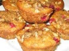 Whole Wheat Cranberry/raisin Pecan Muffins Recipe