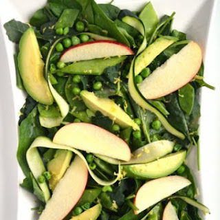 Spring Green Salad with Lemon Vinaigrette