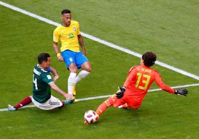 Malgré un très bon Ochoa, le Brésil parvient à sortir le Mexique !