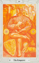 Photo: .IV. The Emperor - O Imperador Thoth Tarot Crowley