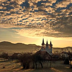 The last sunrise in 2012 by Atti Maguran - Landscapes Travel