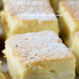 Simple Custard Cake Recipes