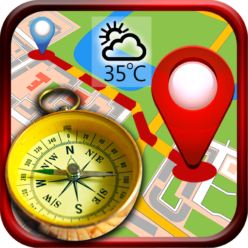 GPS - Find your Route - Compass & Weather