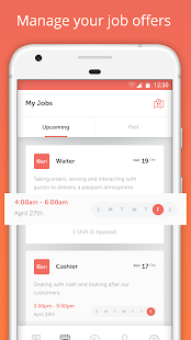 UShift - Find Part-Time Jobs - náhled