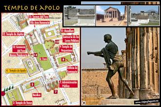 Photo: 7: El <b>Templo de Apolo</b> original es del siglo VI a. C., aunque con modificaciones posteriores y un terremoto... la adoración a Apolo, es un rito importado de Grecia. Tanto Apolo como su hermana Diana, Artemisa, llevaban arcos.