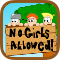 No Girls Allowed icon